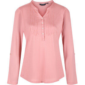 Regatta FFlur Camiseta Manga Larga Mujer, chalk blush